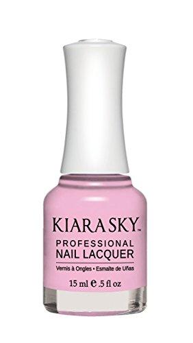 (Kiara Sky Nail Lacquer - (#537 - COTTON KISSES) + Buy 3 any colors get FREE 1 Airbrush Stencil)