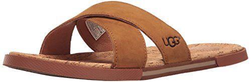 Flip Flop, Tamarind, 13 M US (Cork Leather Flip Flops)