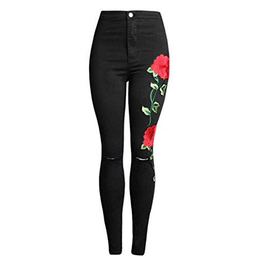 embroidery pants - 8