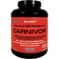 (MuscleMeds - Carnivor Bioengineered Beef Protein Isolate Chocolate - 2.25 lbs.)