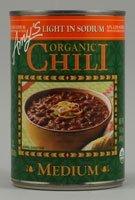 AMY'S: Organic Medium Chili Light In Sodium, 14.7Oz 6 Pack
