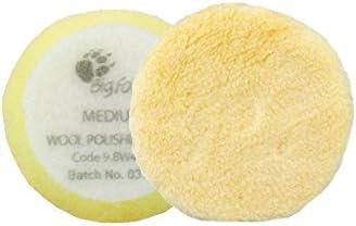 Rupes Almohadillas de Pulido Pie Grande-Juego de 10 para complicar más almohadillas 100 /& 150 mm