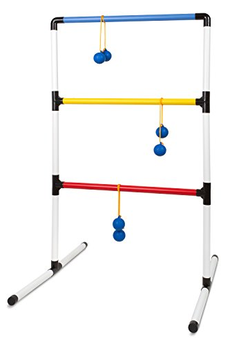 Outdoor Backyard Ladder Ball Lawn Game -(1) One Piece Family Outside Activities Ladderball Target Toss Game for Children Tailgates Barbecue Events