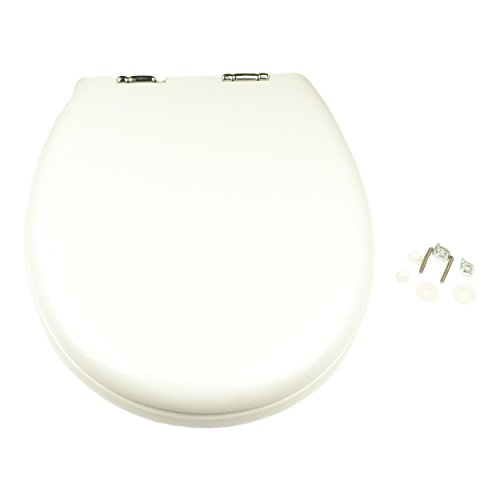Thetford 36504 White Toilet Seat and Cover by Thetford