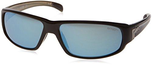Smith Optics Precept Sunglass (Black/Polarized Gray Green - Tenet Sunglasses Smith