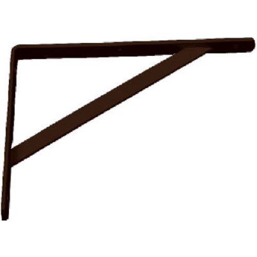 Black HD Steel Shelf Bracket, 12