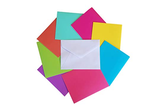 Craft Smart - Blank Note Cards and Envelopes - 80 Sets - Stationary for Any Occasion, Any Time of Year - 4.25