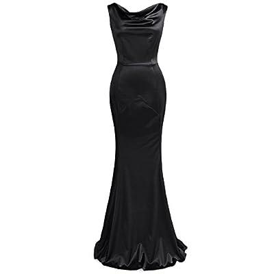 MUXXN Women's 30s Brief Elegant Mermaid Evening Dress: Clothing