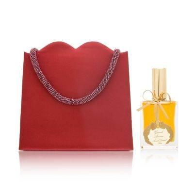 Annick Goutal Grand Amour Eau De Parfum Spray - Annick Goutal Grand Amour for Women 1.0 oz Eau de Toilette Spray with Red Satin Bag