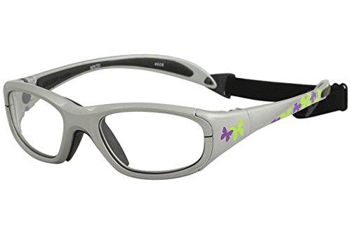 Liberty Sport Youth MX20 MX-20 608 Blue Butterfly Sport Strap Sunglasses 51mm by Liberty Sport