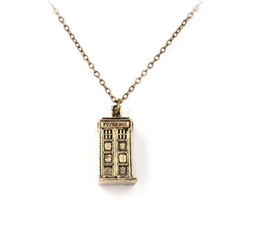 Doctor Who Tardis Pendant