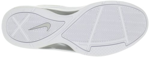 Nike Overplay VII (7) Herren Basketballschuhe Weiß / Weiß / Metallic Silber