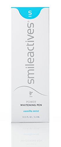 Smileactives – On-the-Go Ultimate Whitening & Brightening Duo – 30 ml Power Whitening Gel and 3.25 ml Advanced Whitening Pen – Travel Size/30 Day Supply by SmileActives (Image #5)