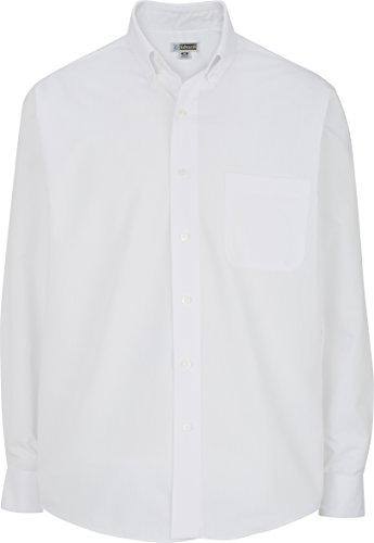 Averill's Sharper Uniforms Men's Cotton Plus Twill Shirt Tall 3XL White - Teflon Treated Twill Shirts