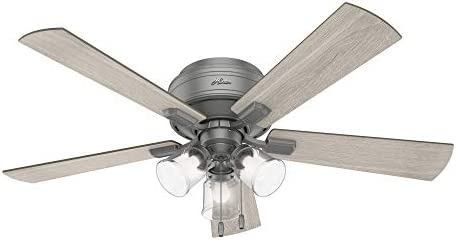 Hunter Fan Company 51020 Crestfield Indoor Low Profile Ceiling Fan