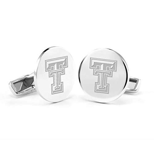 - M. LA HART Texas Tech Cufflinks in Sterling Silver