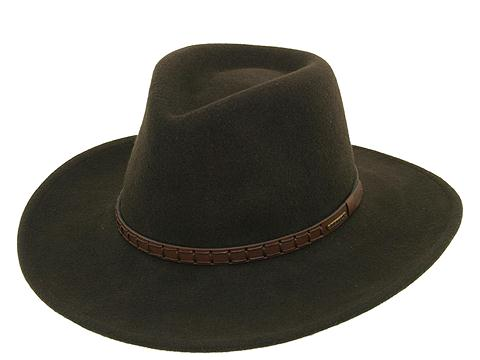 Stetson Men's Sturgis Pinchfront Crushable Wool Felt Hat Cordova X-Large