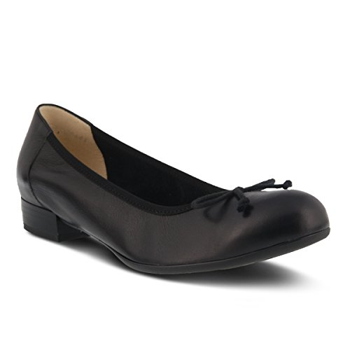 Spring Step Womens Style Kendal Leather Slip-On Shoe Black