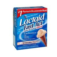 Lactaid Fast Act Chewable Tablets - 32 ea by J&J Sales Logistics Co