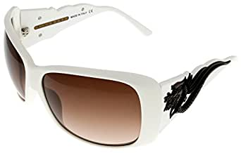 John Richmond Sunglasses Womens JR674 03 White
