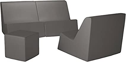Amazon.com : La-Fete Design Mingle 4 Piece Grouping, Steel ...