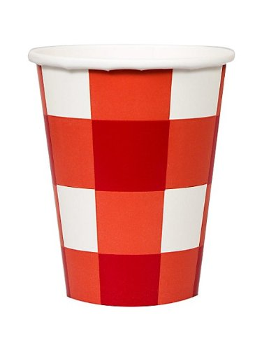 checkered cups - 9