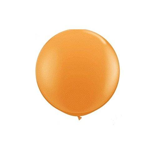 Balón redondo gigante naranja 86 cm: Amazon.es: Hogar