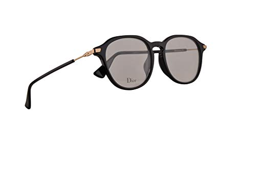 Christian Dior Dioressence17F Eyeglasses 50-18-145 Black w/Demo Clear Lens 807 Essence 17F Essence17F