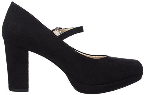s.Oliver Damen 24411 Pumps Schwarz (Black 001)