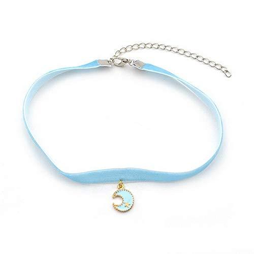 Hebel Retro Velvet Choker Anime Sailor Moon Charm Pendant Cosplay Necklace Jewelry   Model NCKLCS - 33685 -