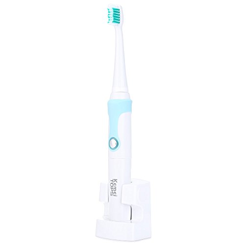 Electric Toothbrush With 3 Heads Rechargeable Ultrasonic Waterproof 30000/Min for Kids Adults