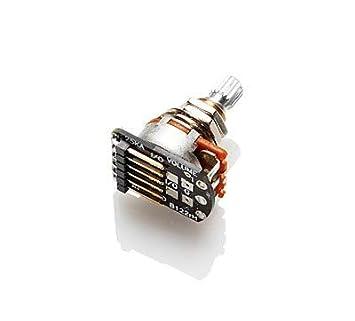 EMG 654330800757 - Bote de control de volumen sin soldadura con eje largo (3242,00 W/Bonus RIS Pick (x1): Amazon.es: Instrumentos musicales