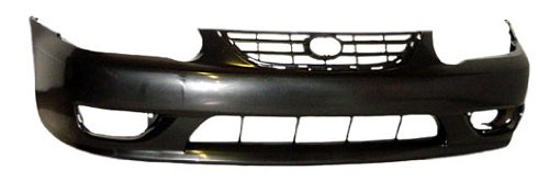 OE Replacement Toyota Corolla Front Bumper Cover (Partslink Number TO1000217)