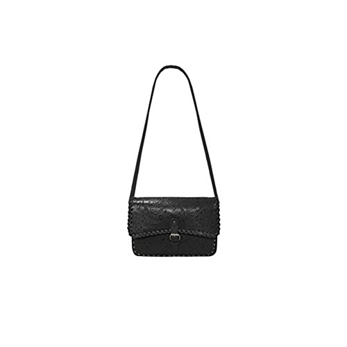 Mia Bag Borsa Tracolla Nera Country Leather