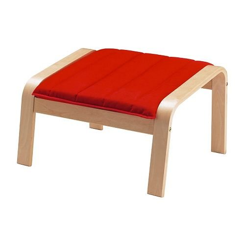 Ikea Ottoman cushion, (Cushion Only ) Ransta red 1628.52929.2610 (Frame not included)