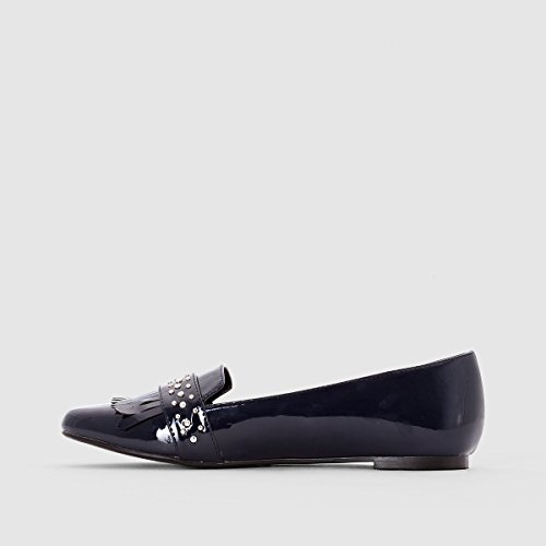 La Redoute Collections Womens Loafers With Mexican Tab Blue 2qe2hxJ
