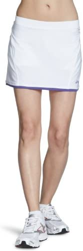 ASICS - Falda de pádel para Mujer, tamaño XXL, Color Blanco/Morado ...