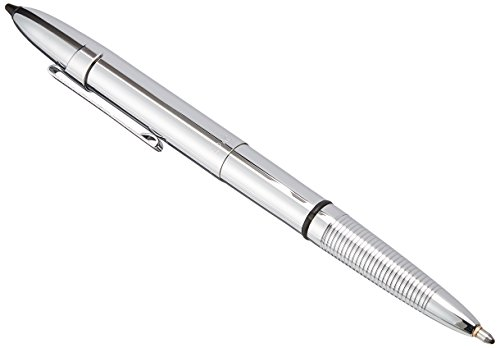 Fisher Space Pen, Bullet Space pen with Clip and Stylus Tip, Chrome (400CL/S) (New Pda Stylus Pen)