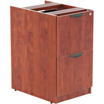 Alera VA542822MC - Valencia File/File Drawer Full Pedestal, 15-5/8 x 22-7/8 x 28-1/2, Medium (Alera Furniture Alera Cherry)