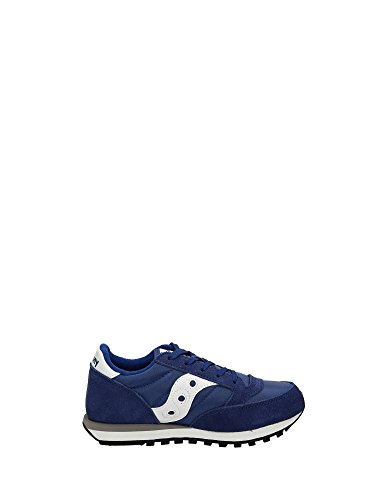 Sneakers Boy Jazz White Blue Saucony Low 6wFRxx8