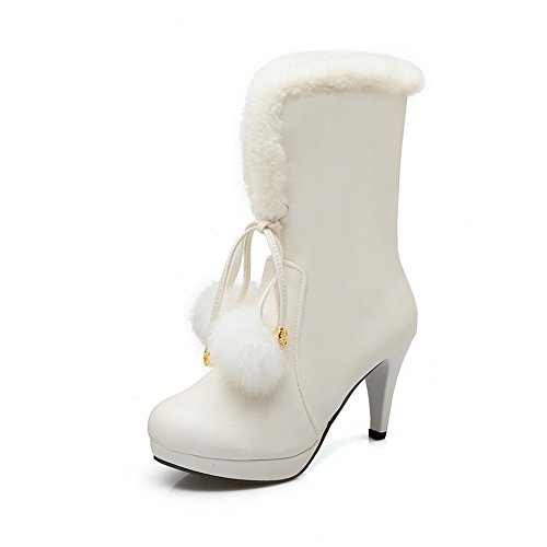 AdeeSu Botas nieve de Blanco mujer 4qFg4nr
