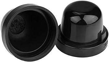 2 unidades, 65 mm, resistente al polvo y al agua Aramox Tap/ón para faros delanteros