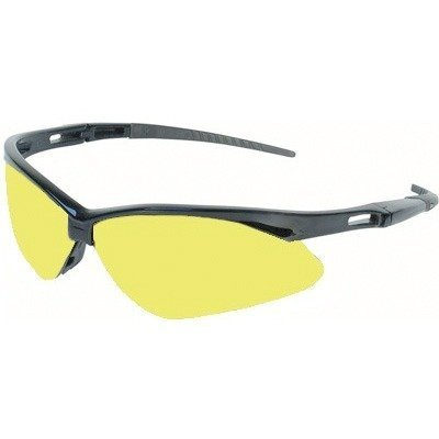 Jackson 3000359 Nemesis Safety Glasses Black Frame Amber ...