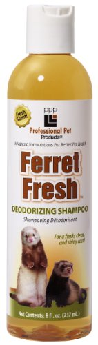 PPP Pet Ferret Fresh Deodorizing Shampoo, 8-Ounce