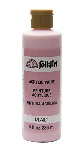 FolkArt Acrylic Paint in Assorted Colors (8 oz), 821, Baby Pink