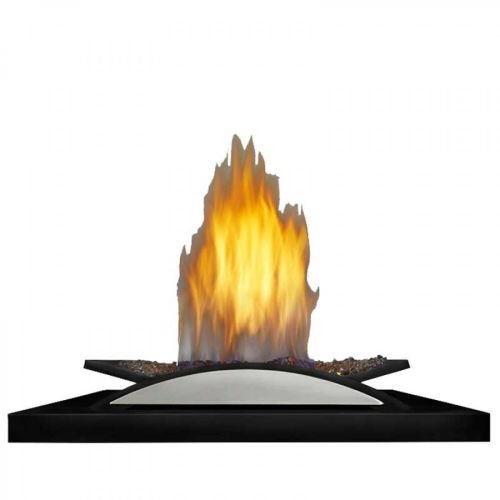 Napoleon Fire Cradle Configuration with CRYSTALINE? Ember Bed Burner Assembly