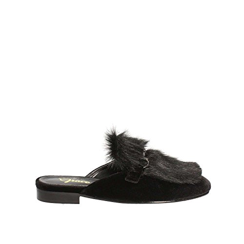 Grace Shoes 0312 Zueco Mujeres Negro