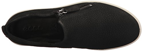 Black Nubuck Women's Zip Fara Sneaker ECCO Fashion dFXwYqwg