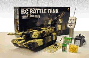 - Airsoft Remote Control RC M1A2 Abrams Battle Tank