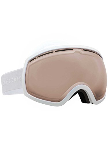 (Electric Visual EG2 Gloss White Unisex Spherical Goggles - Bronze/One Size Fits All)